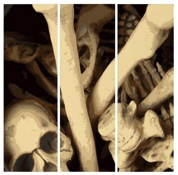 Caldron bones triptych illustra - someartworker | ello