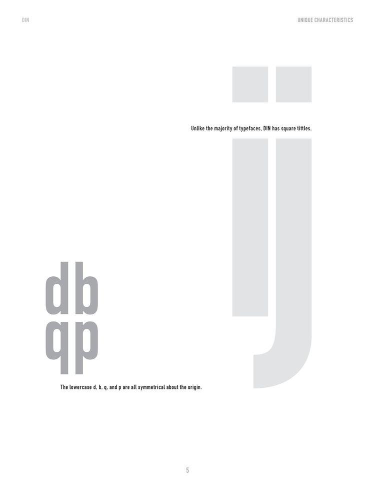 Anatomy Type II - DIN, typography - mlledarcel | ello