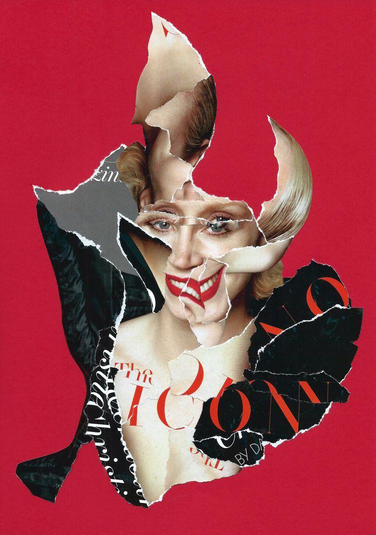 Icon (Gwendoline Christie - collage - graemejukes | ello