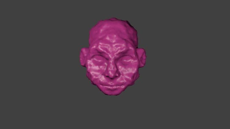 sculptmode Blender head... sort - nikita_r | ello