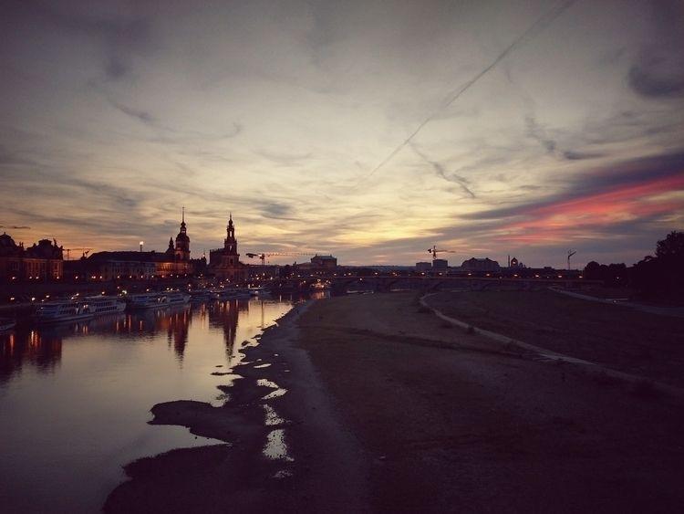 river, sunset, city, urban, almostautumn - claudio_g_c | ello