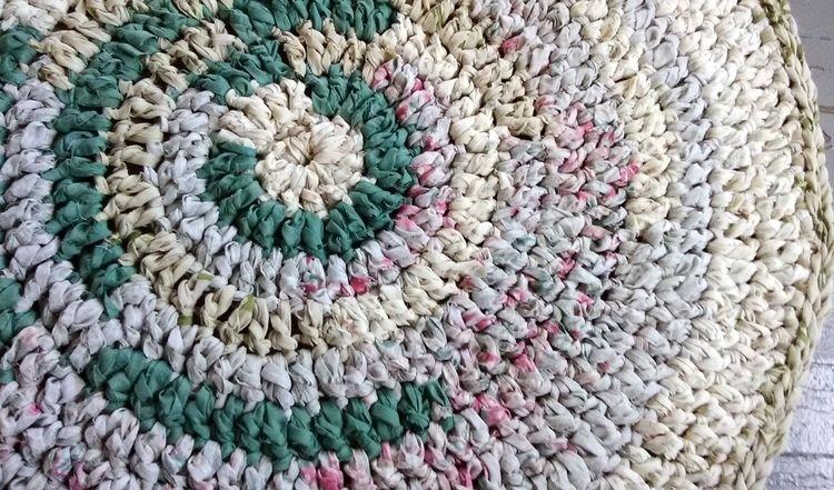 SOLD...Handmade Crochet Eco Rag - maryherrigfiberarts | ello