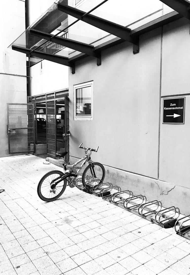 • Bicycle stand - photography, blackandwhitephotography - borisholtz | ello