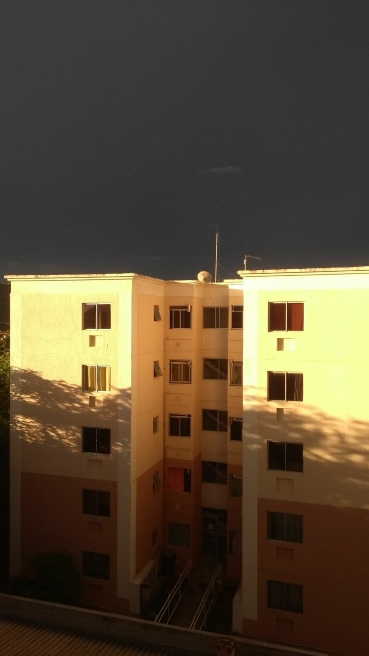Sun dark day - sky - giselybelfort | ello
