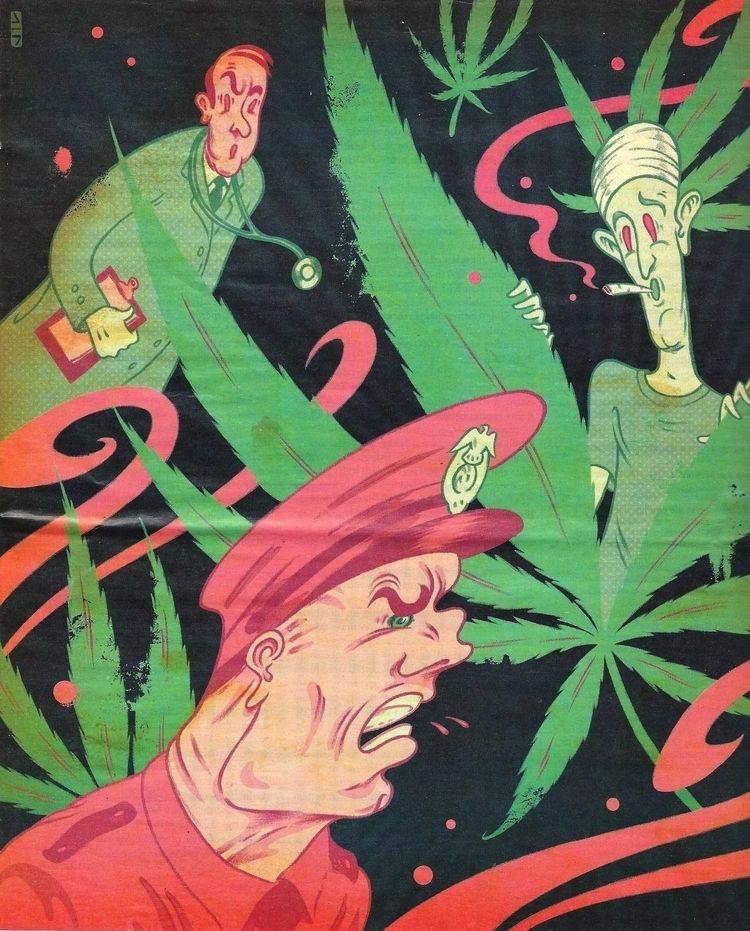 Illustration Jessie Lefkowitz,  - ellocannabis | ello