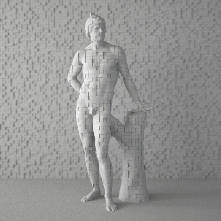 Intangible | Pixel Noise - Mars - luigihonorat | ello
