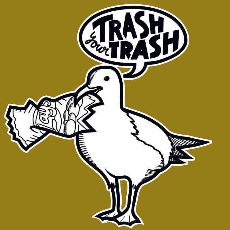 trash, trash - elmarnoteboom | ello