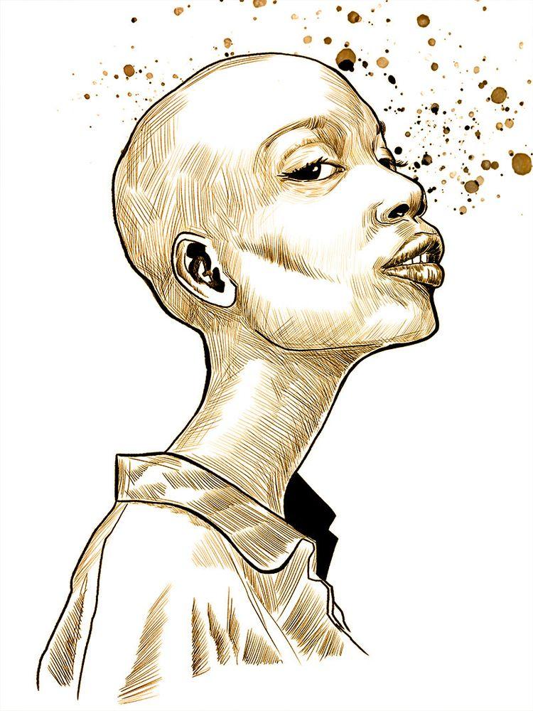 sketch form night - art, illustration - jhherrera   ello
