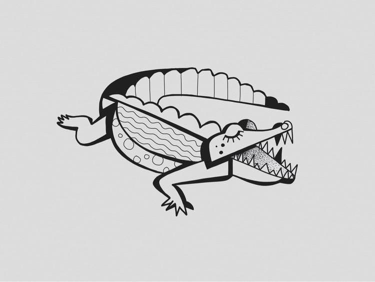 Das Krokolieb, ein sehr seltene - heiniistgegenalles | ello