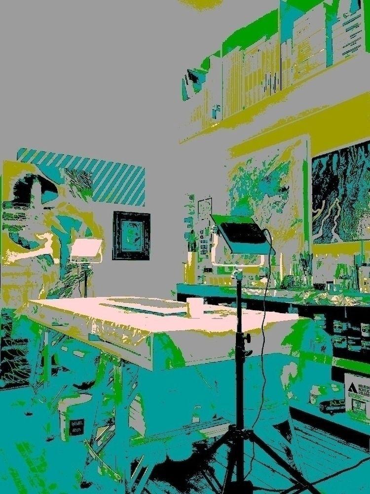 Funky Colourpop art - drama: mo - cgwarex | ello