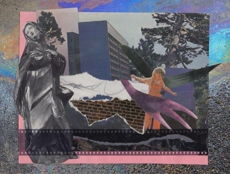 Für Alina - collage, paper, mood - verawhois | ello