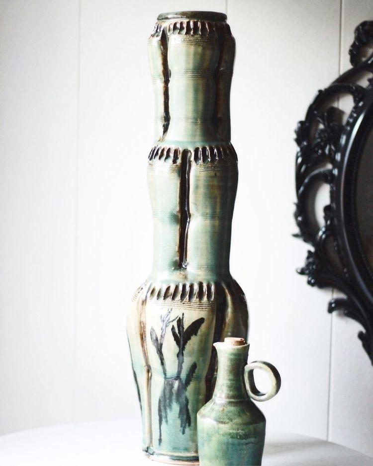 multi-piece vase, measuring 20  - chrisswazie-ceramics | ello