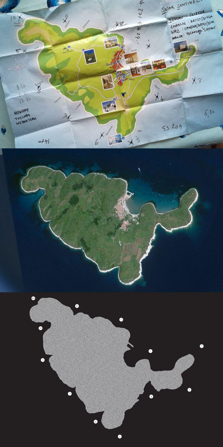 Maps Susak info Sentinels - ellocharliebquiet | ello