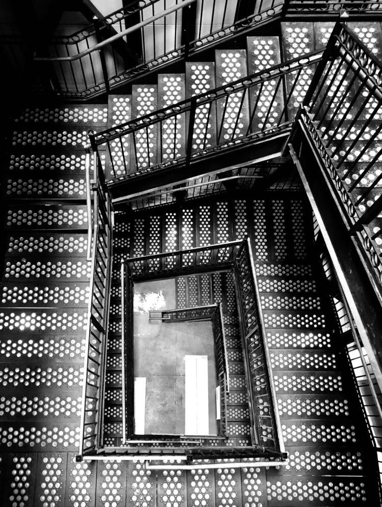 Unique stairwell Thomas Edison  - nikonkenny | ello