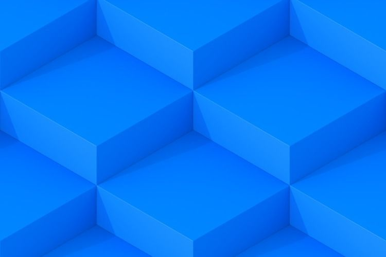 Blue Square Abstract Background - dmitrykovalev | ello