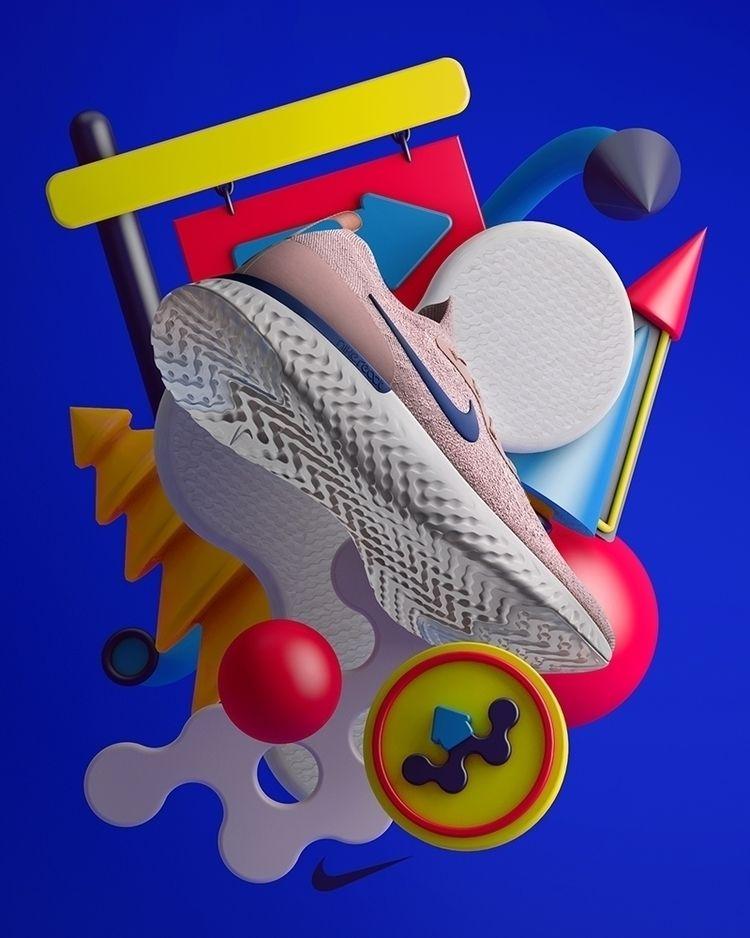 series created Nike Running Glo - cadenascarlo | ello