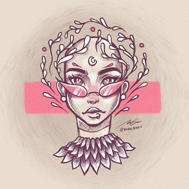 Instagram: • Aura favorite sket - vasilenevart | ello