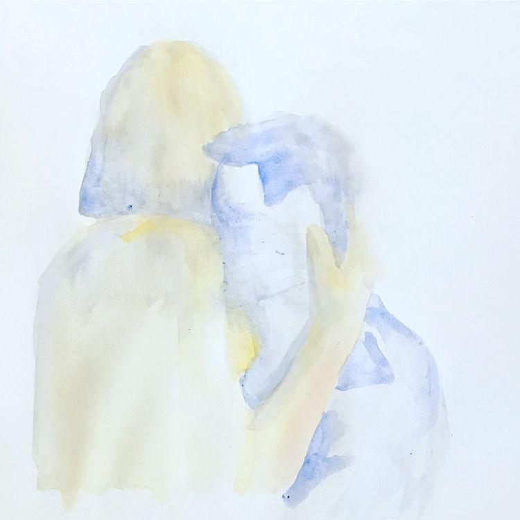 water color doodles lovers  - alexzembo | ello
