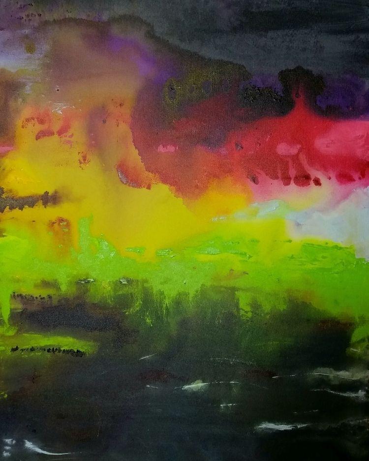 ABSTRACT Acrylic canvas 80 cm 1 - tmarcoantonio | ello