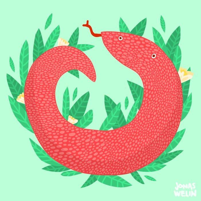 snake - jonaswelin | ello