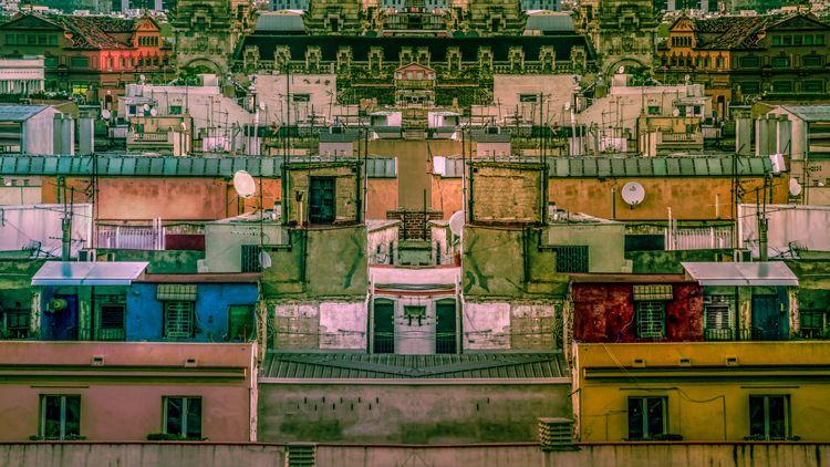 urban cityscape central Barcelo - rickschwartz | ello