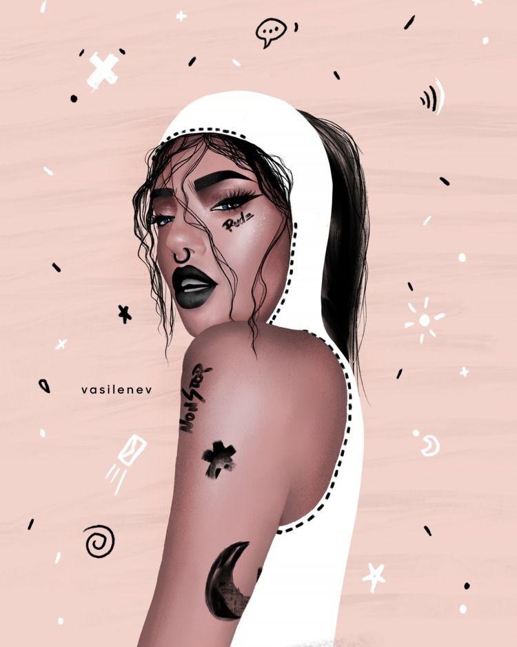 Instagram: • illustration!! tim - vasilenevart | ello