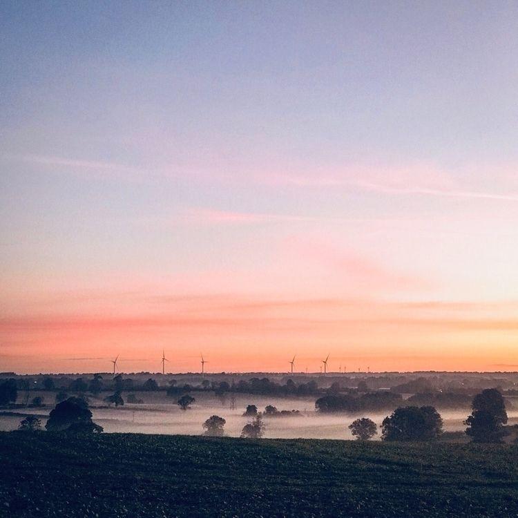 beginning day - sunrise, sunset - pauldpiper | ello