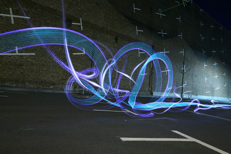 photography, lightpainting, light - davidluepschen | ello