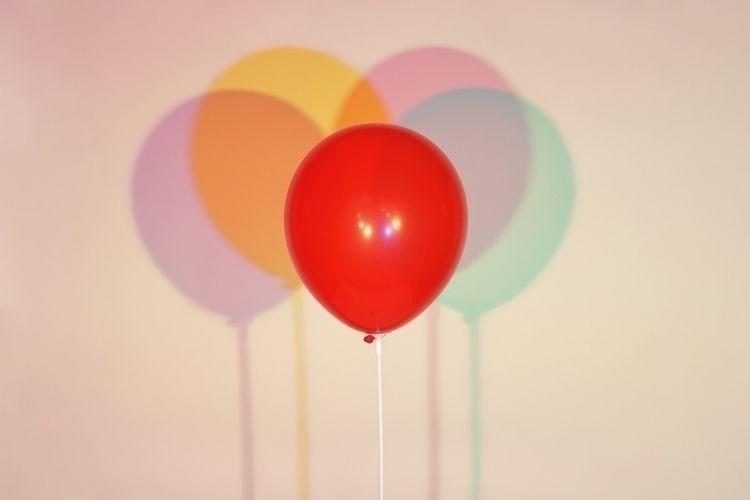 Red balloon - patriciadaviesboyce | ello