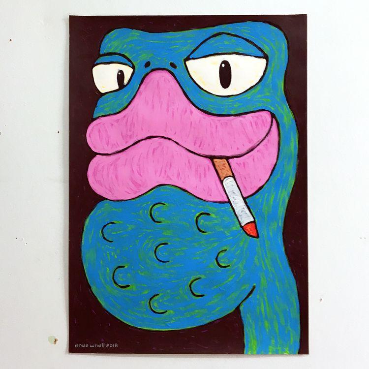 painting, acrylicpainting, acryliconcanvas - andewhallart | ello