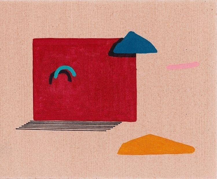 Mooseheart - minimal, painting, art - davidmesquivel   ello