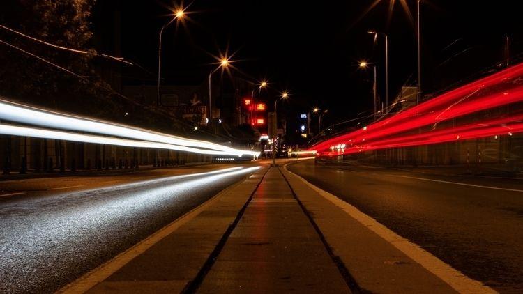 Night, Light, Trail - brokiama | ello