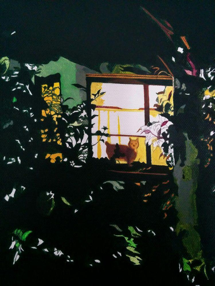Underpainting 'Martin - art, painting - jolenelaiart | ello