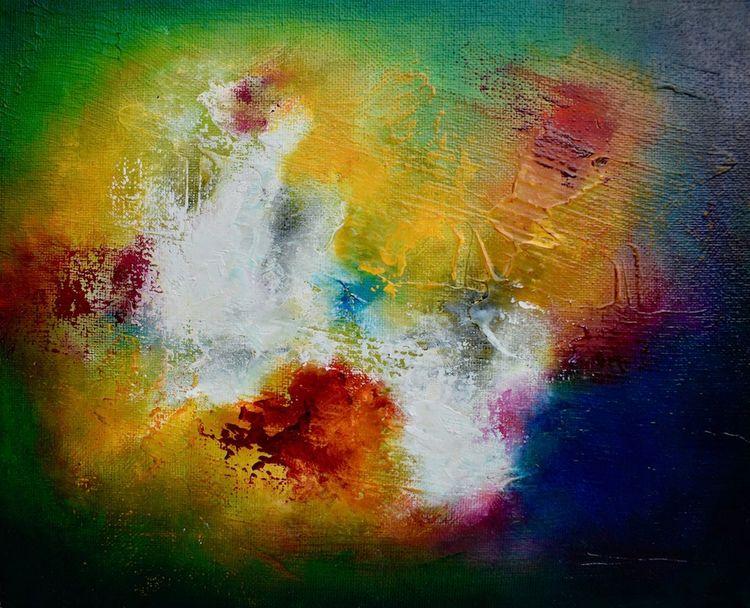 Original oil painting titled Pu - createdbychrista | ello