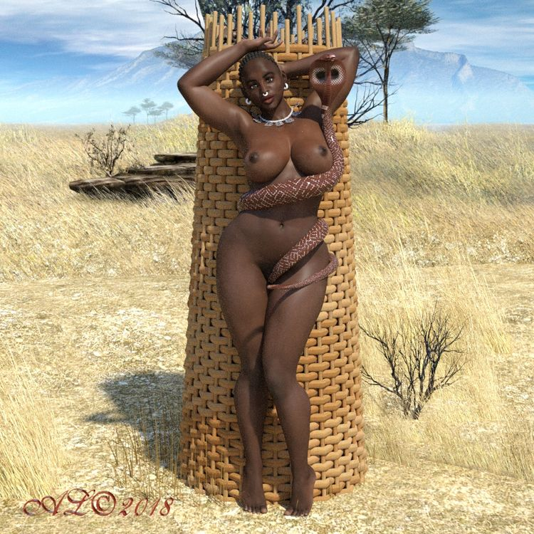 african, nude, black, beauty - franklange | ello