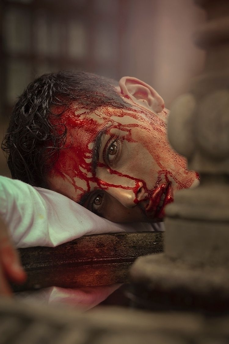 """Blood"" — Photographer: Salem M - darkbeautymag | ello"