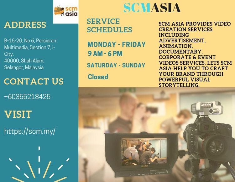 Video production services Malay - scmasia   ello