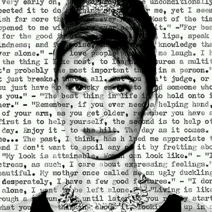Happy Birthday Audrey Hepburn,  - martinarall | ello