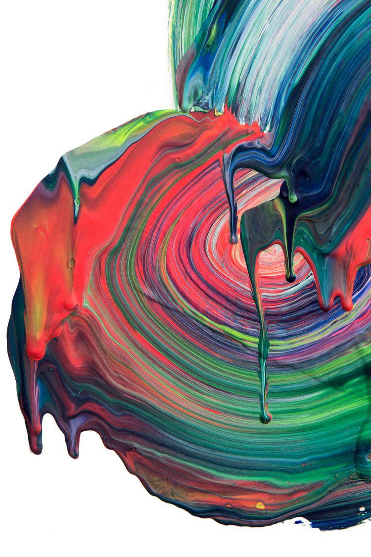 Honey, 2018 - mentalhealth, abstractlandscape - itsstefa | ello
