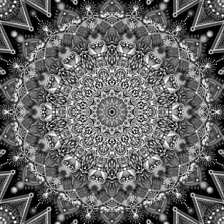 BlackheartZen _no.10 - art, digital - violetluna | ello