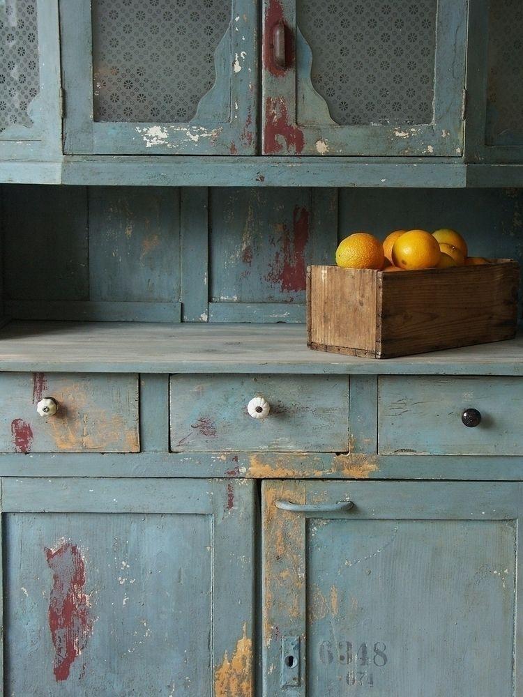 Blue chippy distressed texture  - eadesign | ello