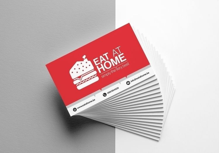 Eat Home // Business Cards - design - sinterclaas | ello