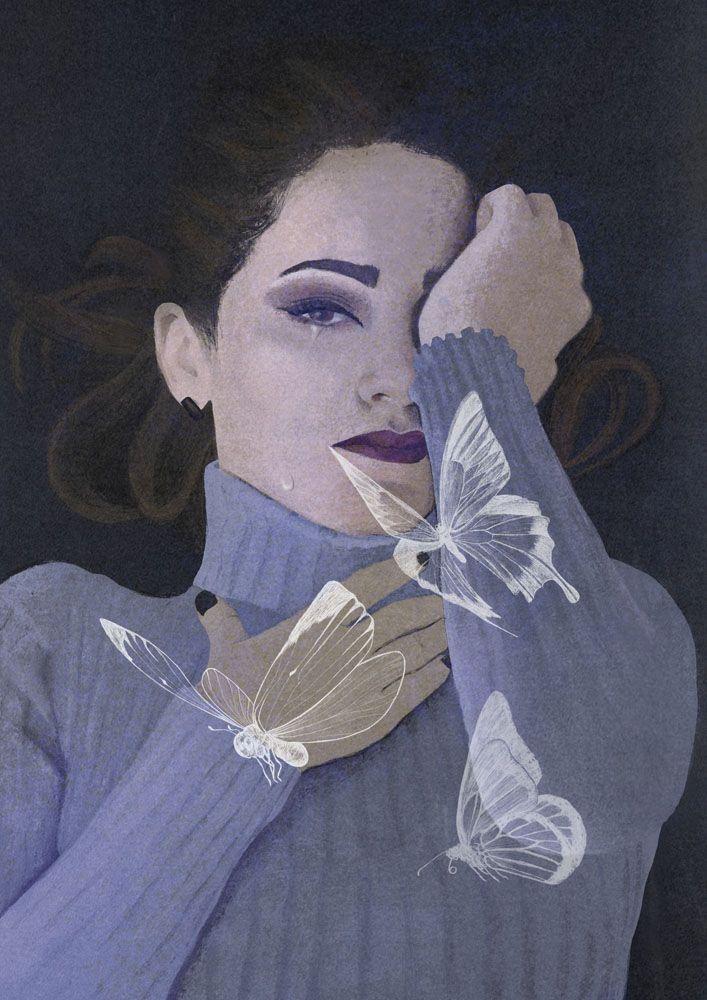 mood, feel universe conspired - illustration - roma_gutierrez | ello