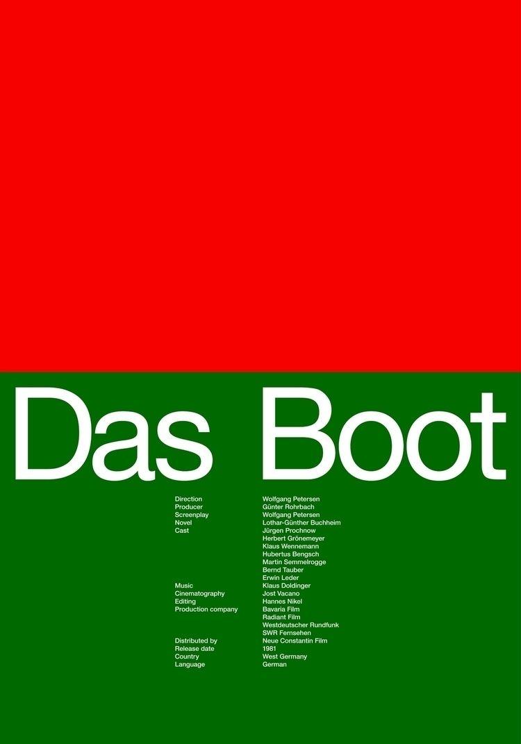 Poster Das Boot, 2018, 50x70cm - ludwigmattsson | ello