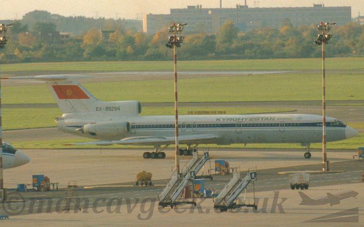 22 years Tupolev Tu154, Kyrghyz - mancavgeek   ello