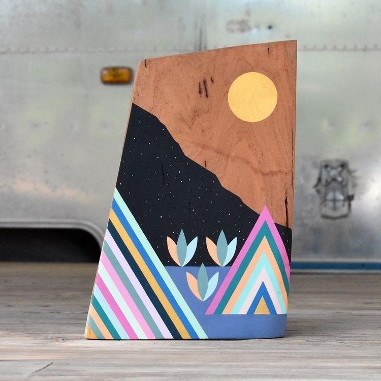 painting chunk carved mesquite - adrianlandonbrooks | ello