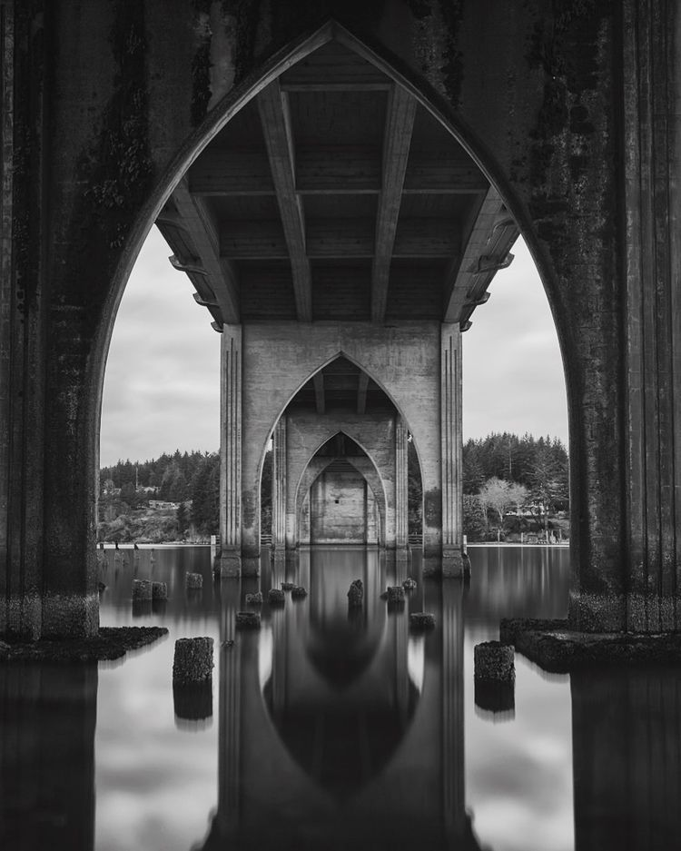 Suislaw Bridge, Florence, Orego - ryanpainter | ello