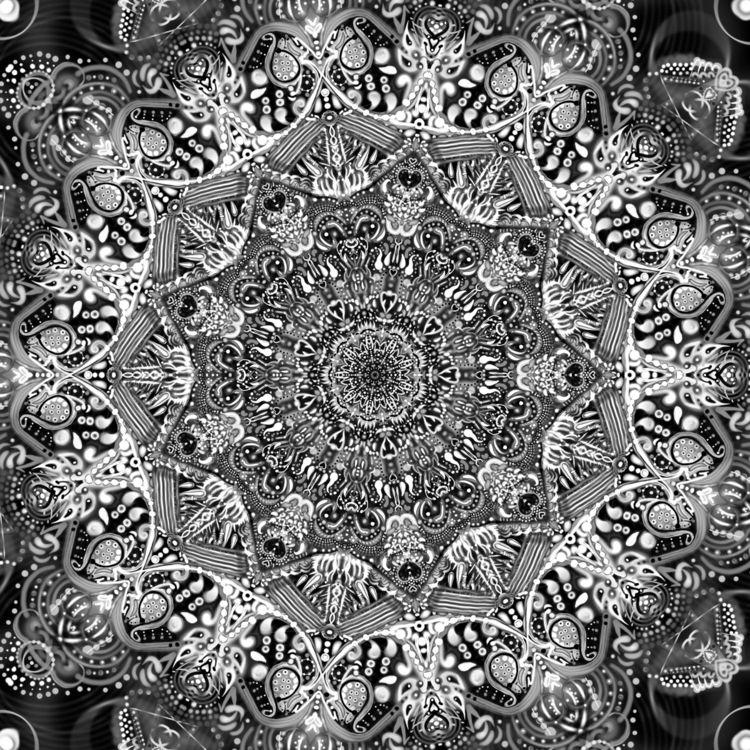 BlackheartZen _no.11 - art, digital - violetluna | ello