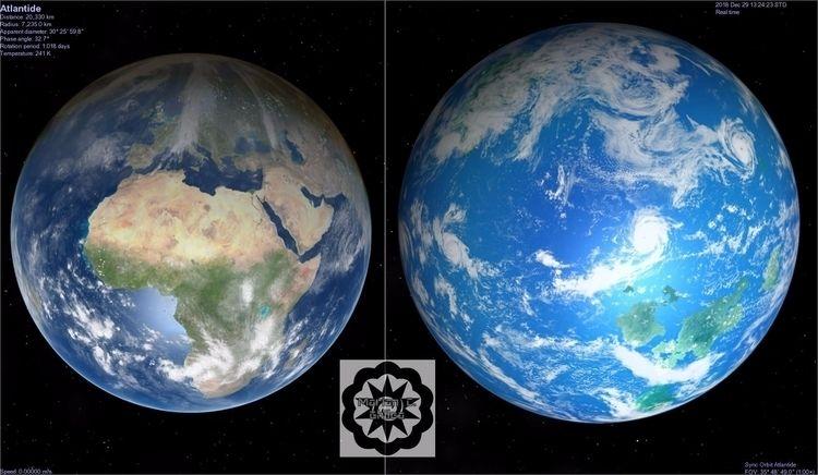 Atlantide land water Earth. sli - gebeleizis | ello