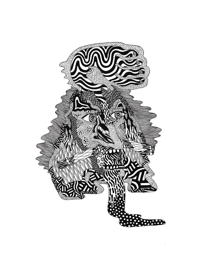 collaboration 9x12 Ink paper - undianuevo | ello